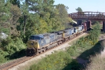 CSX 137 on Q124 heading north