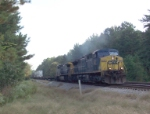 CSX 227 on Q124 heading north