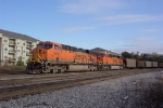 BNSF 5856 heading back to the Powder River Basin