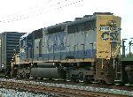 CSX 8483 on train Q675