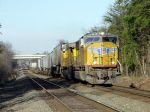 UP 4628 SD70M Leads NS 203 (Alexandria, Va - Atlanta, Ga) at South Manassas in 2003.
