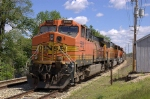 BNSF 5695, 8901, and 9145