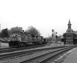 CSX 164 Leads an Empty Coal Train WB