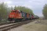 CN 5834 and 5836