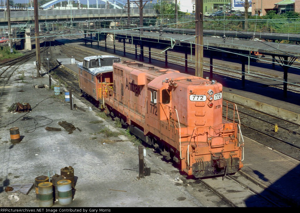 "Amtrak ""Pumpkin"" GP7"