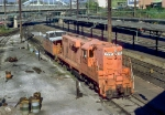 "Amtrak ""Pumpkin"" GP7"