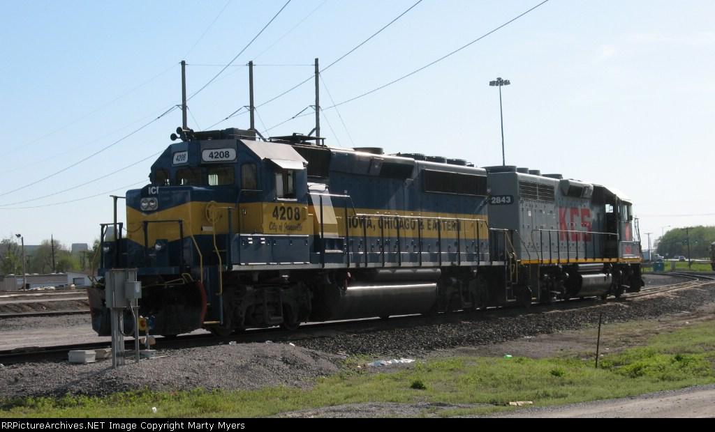 ICE 4208 & KCS 2843
