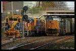 CSX 4728 and NECR 3857 @ Palmer, MA