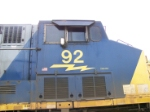 CSX 92 Cabside