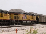 UP 5596 #3 power in a WB coal train at 12:10pm
