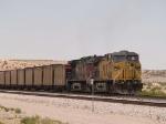UP 6241 and UP 6668 push a WB coal train at 12:10pm