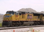 UP 5138 leads a WB intermodal at 12:30pm