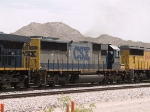 CSX 8573 #2 power in a WB autorack at 12:48pm