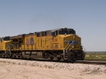 UP 5261 leads an EB intermodal at 1:56pm