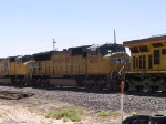 UP 4852 #2 power in a WB intermodal at 11:56am