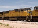 UP 4332 #3 power in an EB intermodal at 12:28pm