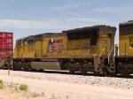 UP 3825 #4 power in an EB intermodal at 12:28pm