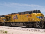 UP 7610 #2 power in an EB intermodal at 12:46pm