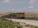 UP 8483 leads an EB intermodal at 12:44pm