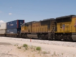UP 4633 #2 power in an EB intermodal at 1:05pm
