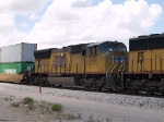 UP 5135 #3 power in an EB intermodal at 1:56pm