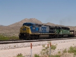 CSX 7853leads a WB bare table at 1:27pm