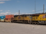 UP 3920 #4 power in a WB intermodal at 4:31pm