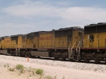 UP 4085 #2 power in an EB intermodal at 12:22pm