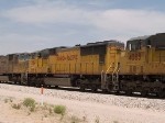 UP 4261 #3 power in an EB intermodal at 12:22pm
