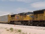 UP 3958 #4 power in an EB intermodal at 12:45pm