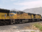 UP 4236 #3 power in a WB intermodal at 1:37pm