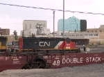CN 6255 leads a WB manifest at 4:28pm