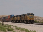 UP 4001 leads an EB intermodal at 12:00