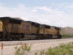 UP 4992 #2 power in an EB intermodal at 12:00