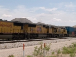 UP 4982 #2 power in a WB intermodal at 12:05pm
