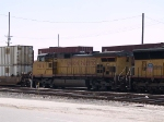 UP 9616 #2 power in a WB intermodal at 11:47am