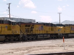 UP 5503 #4 power in an EB manifest at 1:53pm