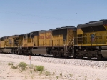 UP 4064 #2 power in an EB intermodal at 1:16pm
