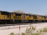 UP 8495 #2 power in a WB intermodal at 1:45pm