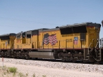 UP 4978 #2 power in an EB intermodal at 1:51pm