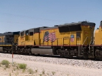 UP 5052 #3 power in an EB intermodal at 1:51pm