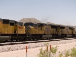 UP 3814 #3 power in a WB intermodal at 12:34pm