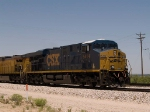 CSX 5414 leds an EB intermodal (KCIAT) at 12:33pm
