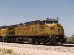 UP 9703 leads an EB autorack at 12:48pm