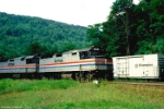 AMTK 322 and 413 on Horseshoe Curve (date is estimated)