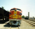 ex-ATSF 347C At The California State Railroad Museum, Picture 2