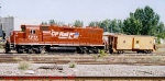 CP 7311 with D&H caboose