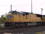 UP 4618 leads a WB intermodal at 12:45pm