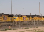 UP 3858 #2 power in a WB intermodal at 4:51pm
