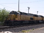 GECX 2897 leads a WB work train at 10:14am
